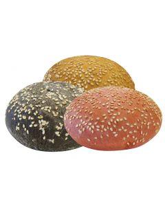 Hamburger Buns Trio