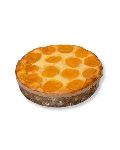 Topfen-Marillenkuchen rund